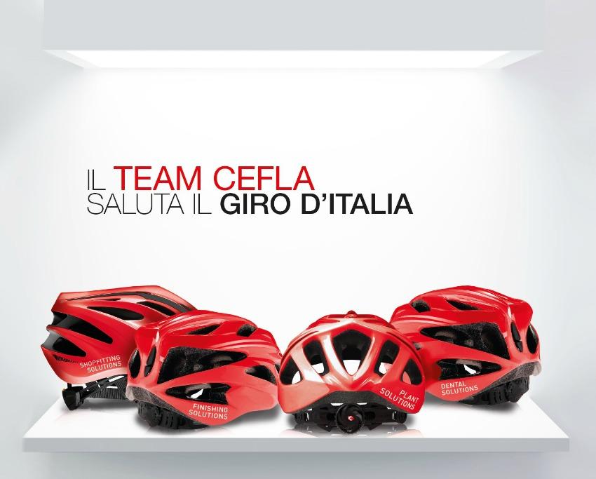 Cefla saluta il Giro dItalia | Cefla